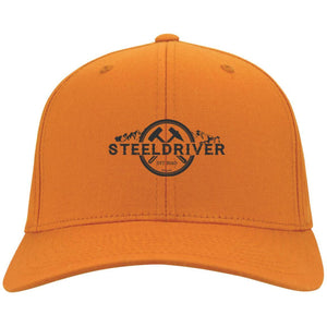 Steeldriver embroidered Flex Fit Fullback Twill Baseball Cap