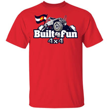 Built4Fun grey G500 Gildan 5.3 oz. T-Shirt