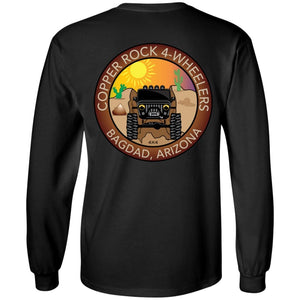 Copper Rock 4-Wheelers 2-sided print G240 LS Ultra Cotton T-Shirt