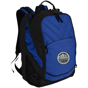 JeepNGypsies embroidered logo BG100 Port Authority Laptop Computer Backpack