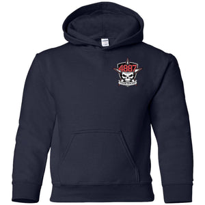 Tyler Racing 2-sided print G185B Gildan Youth Pullover Hoodie
