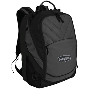 JEEP SK embroidered logo BG100 Port Authority Laptop Computer Backpack