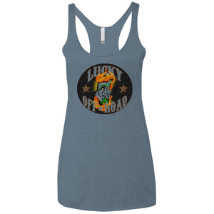 Lucky 7 Offroad NL6733 Next Level Ladies' Triblend Racerback Tank