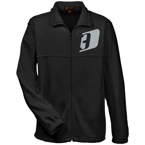 D3 silver embroidered M990 Harriton Fleece Full-Zip