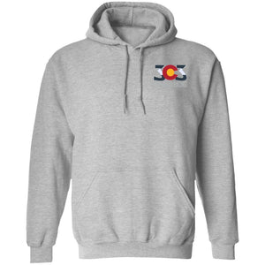 303 Off-road Racing 2-sided print G185 Gildan Pullover Hoodie 8 oz.