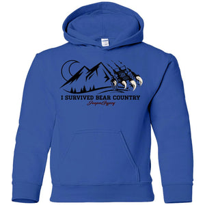 I survived G185B Gildan Youth Pullover Hoodie