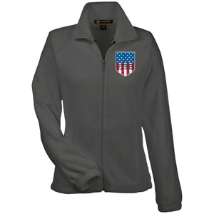 American Off-Road embroidered logo M990W Harriton Women's Fleece Jacket