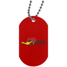 FOUL MOUTH RACING UN4004 Silver Dog Tag