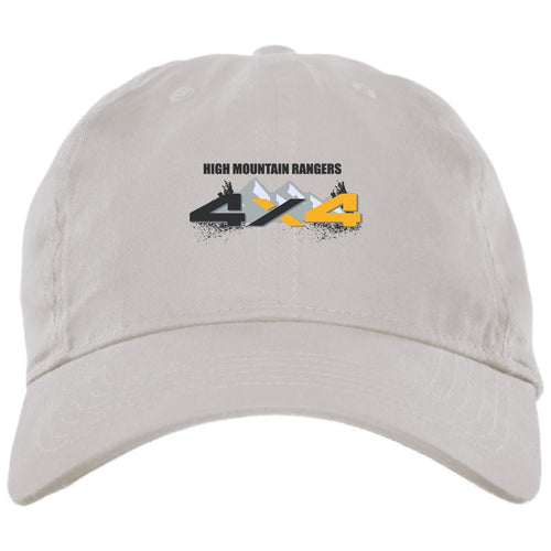 HMR embroidered logo BX001 Brushed Twill Unstructured Dad Cap