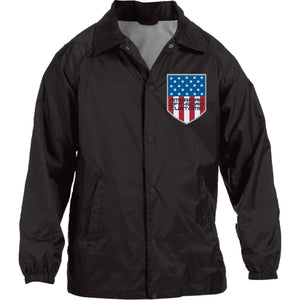 American Off-Road embroidered logo M775 Harriton Nylon Staff Jacket