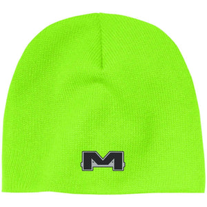 MOAB Motorsports silver embroidered CP91 100% Acrylic Beanie