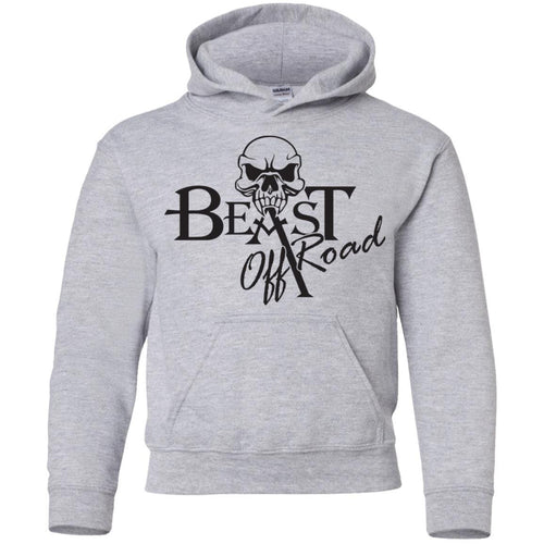 Beast Off-Road G185B Gildan Youth Pullover Hoodie