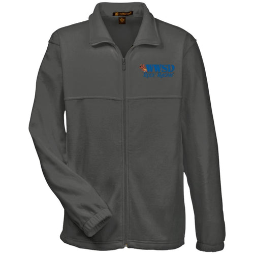 WWSD embroidered logo M990 Harriton Fleece Full-Zip