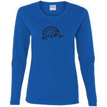 Rockland Rock Crawlers G540L Gildan Ladies' Cotton LS T-Shirt