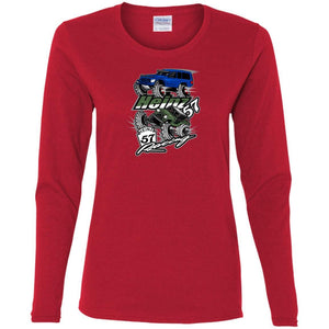 H57 Racing G540L Gildan Ladies' Cotton LS T-Shirt