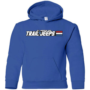 Trail Jeeps G185B Gildan Youth Pullover Hoodie