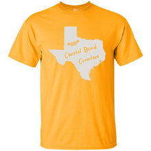 Coastal Bend Crawlers light logo G200B Gildan Youth Ultra Cotton T-Shirt