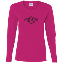 SteelDriver G540L Gildan Ladies' Cotton LS T-Shirt