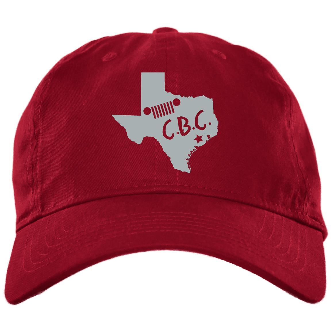 06de8ee64d2 ... C.B.C. embroidered silver logo BX001 Brushed Twill Unstructured Dad Cap  ...
