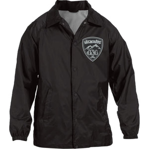 Heights 4x4 embroidered logo M775 Harriton Nylon Staff Jacket