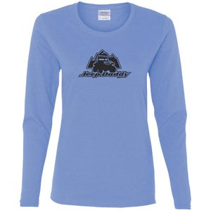 JeepDaddy G540L Gildan Ladies' Cotton LS T-Shirt