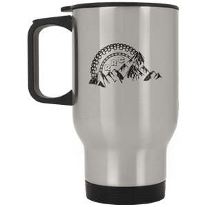 Rockland Rock Crawlers XP8400S Silver Stainless Travel Mug