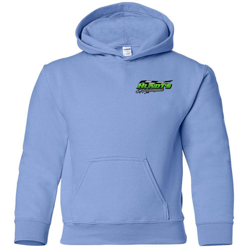 Hundt's Motorsports 2-sided print G185B Gildan Youth Pullover Hoodie