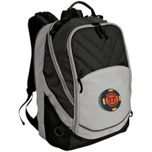 Black 17 embroidered BG100 Port Authority Laptop Computer Backpack