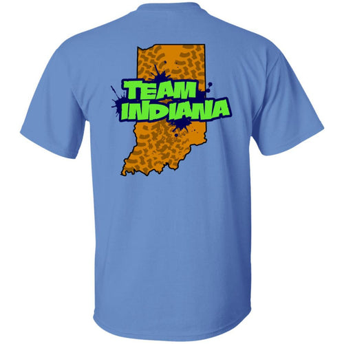 WWSD 2-sided print w/ Team Indiana back G500B Gildan Youth 5.3 oz 100% Cotton T-Shirt