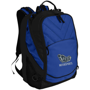 Yeti silver embroidered logo BG100 Port Authority Laptop Computer Backpack