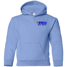 WWSD 2-sided print w/ Team Indiana back G185B Gildan Youth Pullover Hoodie