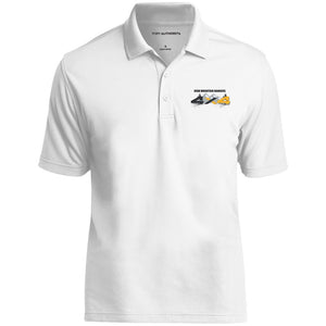 HMR embroidered logo K110 Port Authority Dry Zone UV Micro-Mesh Polo