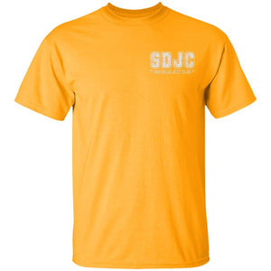 SDJC 2-sided print G500B Gildan Youth 5.3 oz 100% Cotton T-Shirt