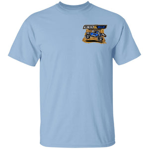 B&B Motorsports 2-sided print (Team Indiana back) G500B Gildan Youth 5.3 oz 100% Cotton T-Shirt