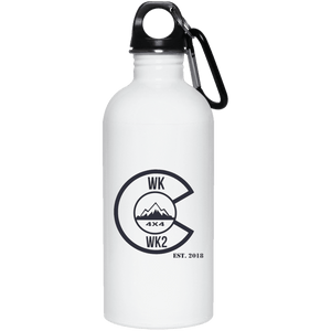 Colorado WK WK2 23663 20 oz. Stainless Steel Water Bottle
