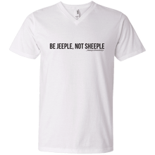 JeepDaddy Be Jeeple Not Sheeple V-Neck T-Shirt