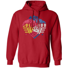 Colorado Combat Jeepers CO Flag G185 Gildan Pullover Hoodie 8 oz.