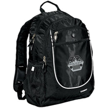 ASJC silver & black embroidered logo 711140 OGIO Rugged Bookbag