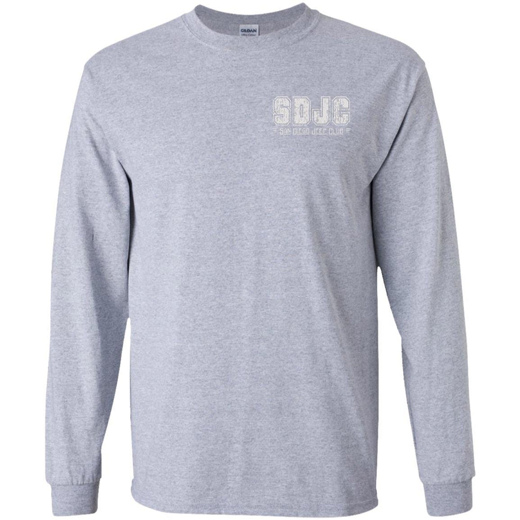 SDJC 2-sided print G240B Gildan Youth LS T-Shirt