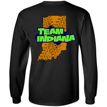 B&B Motorsports 2-sided print (Team Indiana back) G240 Gildan LS Ultra Cotton T-Shirt