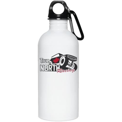 True North Racing dye sublimation 23663 20 oz. Stainless Steel Water Bottle