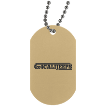California Jeeps UN4004 Silver Dog Tag