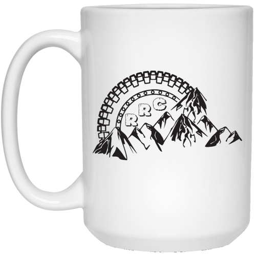 Rockland Rock Crawlers 21504 15 oz. White Mug