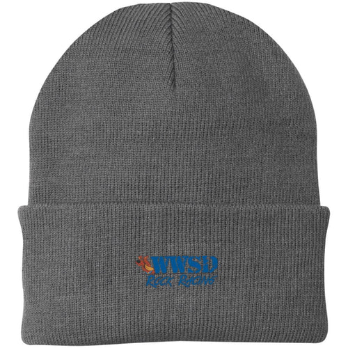 WWSD embroidered logo CP90 Port Authority Knit Cap
