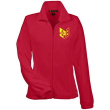 Wicked Jeeps NM embroiderd M990W Harriton Women's Fleece Jacket