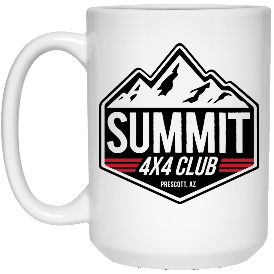Summit 4x4 Company 21504 15 oz. White Mug