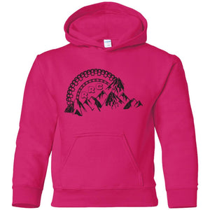 Rockland Rock Crawlers G185B Gildan Youth Pullover Hoodie