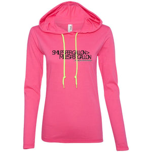 JeepDaddy Smiles Per Gallon > Miles Per Gallon Ladies' Light Weight Hoodie