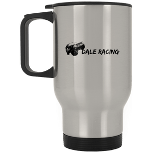 Dale Racing XP8400S Silver Stainless Travel Mug