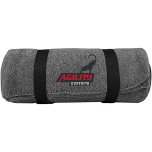 Agility Customs embroidered BP10 Port & Co. Fleece Blanket